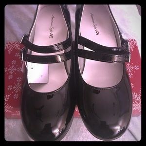 NWT Black Double Buckle Dressy Shoes